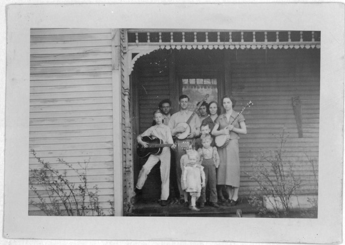 Pete Steele Family by Alan Lomax_Pubblico dominio